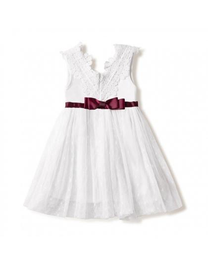 2017 Vintage Baby Girl Dress Chrzest Sukienki Dla Dziewczynek 1st