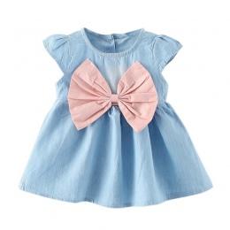 2017 nowy projekt w stylu baby mini dzieci lato nosić krótki rękaw sukienka fashion party maluszek mały dziewczyna czysta mankie