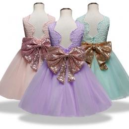Nowe Mody Formalne Noworodka Suknia Ślubna Dziewczynka Bow Wzór Dla Malucha 1 Lat Urodziny Chrzest Sukienka Ubrania