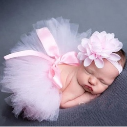 Newborn Fotografia Rekwizyty Niemowląt Kostiumy Outfit Księżniczka Cute Ręcznie Robione Na Szydełku Kwiaty Cap Baby Girl Summer