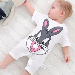 Lato 2018 body dla bobasów 0-24 m krótki rękaw ciała niemowląt noworodka dziewczynka chłopiec odzież bawełna kombinezon dla niem