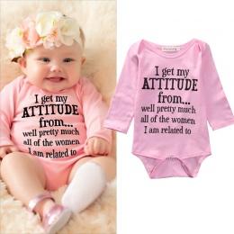 Noworodka Baby Girl Ubrania Malucha Bébés Dzieci Długi Rękaw Bawełna Body Kombinezon Outfit Garnitur 0-18 M