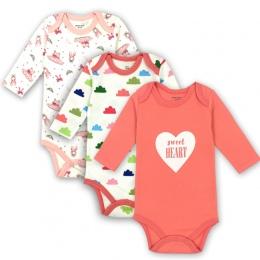 Noworodka Body Ubrania Dla Dzieci Bawełna Ciała Dziecka Z Długim Rękawem Bielizna Dla Niemowląt Chłopcy Dziewczyny Ubrania Zesta