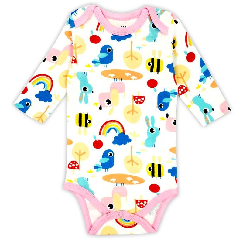 08825db326915d ... Noworodka Body Ubrania Dla Dzieci Bawełna Ciała Dziecka Z Długim  Rękawem Bielizna Dla Niemowląt Chłopcy Dziewczyny ...