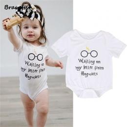 Śpioszki dla niemowląt Z Krótkim Rękawem Dla Dzieci Dziewczyny Odzież Kombinezony Dzieci Lato 0-24 M Newborn Baby Clothes Bawełn