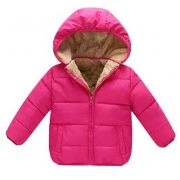 BibiCola Zimowe Dla Dzieci Chłopcy Kurtki Dziewczyny Bawełna Snowsuit Płaszcze Dziecko Zagęścić Ciepły Aksamit Parki Dzieci Chło