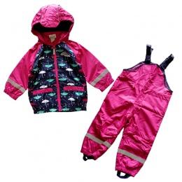 Dzieci/dzieci/maluch/dziewczynek ubrania, dziecko wiatroszczelna garnitur, wodoodporna odzież ustaw, kurtka, kombinezony, płaszc
