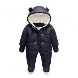 Mroźna Zima Pajacyki Ubrania Dla Dzieci Chłopiec Dzieci Dziewczynka Kombinezon Dzieci Kaczka Dół Bawełniane Kombinezony snowsuit
