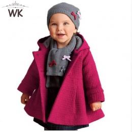 Jw-176 2018 dzieci zimowe płaszcz dziewczyny różowy płaszcz dzieci kurtki casual ubrania dla niemowląt dzieci kurtki płaszcze dz