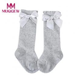 MUQGEW baby kids cotton skarpetki chłopcy dziewczyna para bebe newborn meias calcetines mujer kolana wysokie skarpety dziecięce
