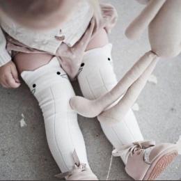 Nowe Dziecko Dzieci Dziewczyny Chłopcy Maluch Skarpetki Nogi Słodkie Zwierzęta Bawełna Kolana Wysokie Skarpety Baby Girl 0-4 t