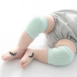 1 para Niemowlę Maluch Nakolanniki Anti Slip Crawling Bezpieczeństwo Getry Anti Slip Indeksowania Akcesoria Dziecko Nóg Kolana P