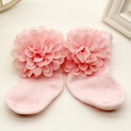 0-6 Miesięcy Niemowlęta Toddlers Skarpetki Dziewczynek Księżniczka Kwiaty Skarpetki Gorąca Sprzedaży