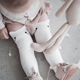 BalleenShiny Skarpetki Bawełniane Dla Dzieci Zwierząt Wydrukowano Kolano Wysoka Leg Warmers Kids Boy Dziewczyna Skarpetki Anti S
