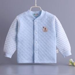 Hot! boys Baby dziewczyny Jesień Zima casual ubrania 100% Bawełny Z Długim rękawem T-shirt dla 3-24 m dziecko Dzieci ciepłe mięk