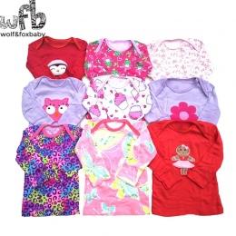 Detal 5 sztuk/partia 0-24months z Długimi rękawami t shirt Dziecko kreskówka Niemowlę noworodka ubrania dla chłopców dziewczyny