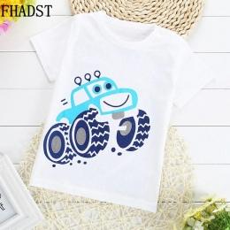 FHADST Nowa Moda Lato Dzieci Bawełniane T-shirty Boy Ubrania Dla Dzieci Krótkie Rękawy Charakter Sportowe Topy Casual Piękny Pła