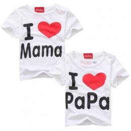Koszulki dla dziewczyn t shirt dziewczynka top koszulki baby boy ubrania dla dzieci topy dziewczyna koszule bawełniane lato KBL0