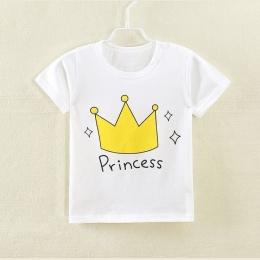 Dziecko chłopiec i dziewczynka Bawełniana Z Krótkim Rękawem T-shirt kid chłopcy cartoon topy
