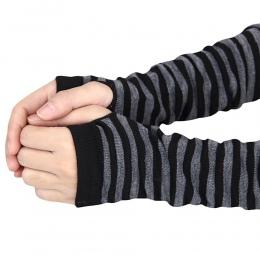 Moodeosa 2018 New Arrival Moda Zima Golves Kobiety Ciepłe Rękawiczki Kobiety Dzianiny Długie Rękawiczki Bez Palców Handel Hurtow