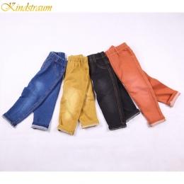 Kindstraum 2018 Dzieci 4 Kolory Dżinsy Wiosna i Lato Style Moda Denim Spodnie CottonTrousers dla Chłopców i Dziewcząt, MC117