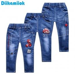 2018 wiosna moda dla dzieci chłopcy dżinsy dla dzieci odzież dla dzieci lato Chłopiec jeansowe Proste dżinsy spodnie na co dzień