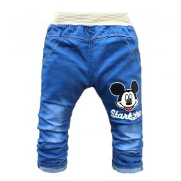 Spodnie Letnie Baby Boy Ubrania dla dzieci Kreskówki Dla Dzieci Odzież Dla Niemowląt Dziewczyny Spodnie Moda Wiosna Dziecko dżin