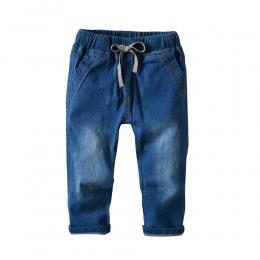 2018New Projekt chłopca Spodnie Wysokiej Jakości Dla Dzieci Stałe Wygodne Niełuskany Dżinsy Cotton100 % Solidna Leisure Spodnie