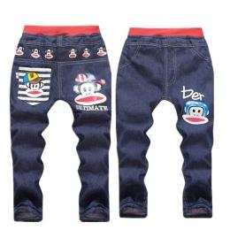 2018 wiosna/jesień moda cartoon dzieci spodnie dziewczyny boys baby jeans dżinsy dla chłopców dorywczo spodnie jeansowe dla dzie
