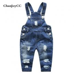 Dziecko Uszkodzony Otwór Spodnie Chłopcy Dziewczęta Odzież Pasek Wiosna Jesień Nowa Moda Dzieci Wysokiej Jakości Jaskini Jeans O