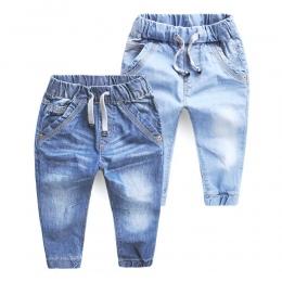 Chłopcy Dżinsy Wiosna Jesień Dziewczyny Dzieci Jeans Odzież Dorywczo Dziewczynka Denim Spodnie Dziecięce Chłopiec dzieci Spodnie