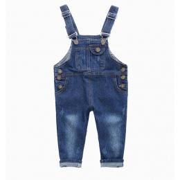 Moda Dla Dzieci Denim Kombinezon 2 3 4 5 6 7 8 9 Lat Dzieci Kombinezony Dżinsy Wiosna Lato Jesień Chłopcy Dziewczyny Dżinsy spod