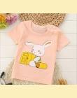 2018 Nowy Mody Cartoon 100% Bawełna Krótki Rękaw Dzieci T-shirty Dla Dzieci 2-7 Lat Chłopcy Dziewczyny Koszulek Dziewczynek ubra