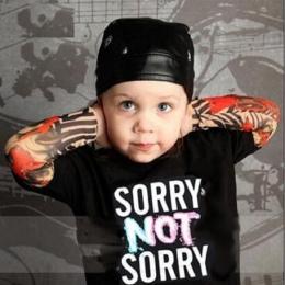 2018 Chłopiec Odzież Bawełniana Koszulka Z Długim Rękawem Dla Dzieci Tee Shirty Nowością Tatuaż Rękaw Dziewczynka Topy Wiosna i