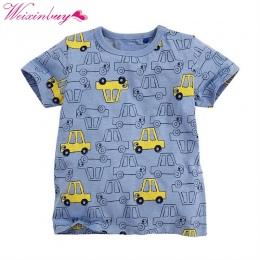 T shirt Chłopcy T-shirt Dla Dzieci Odzież dla dzieci Mały Chłopiec Lato Koszula Trójniki Projektant Bawełna Cartoon Odzież 1-6Y