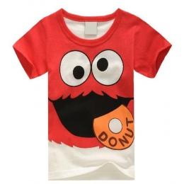 Najpopularniejsze chłopcy dziewczyny letnie ubrania T-shirt dzieci Popularne Hero Drukuj t koszula dzieci multicolor super carto