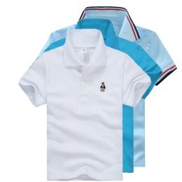 Wysokiej Jakości Wszystkie Mecze Unisex Chłopiec koszulki Polo dla Dzieci Lato Berbeć Duży Chłopiec Topy Dziewczyny T shirt Bawe