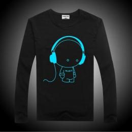 Luminous Długim Rękawem T-Shirt Dla Chłopców T Shirt Batman Boże Narodzenie Nastolatek dziewczyna Topy Rozmiar 10 11 12 14 lat N