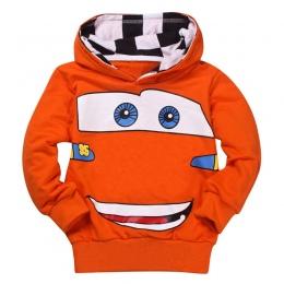 Tanio Sprzedam Moda Chłopcy Dziewczęta Cartoon Samochód Wiosna Jesień Bluzy Sportowe T Shirt Odzież Odzieży Wierzchniej Dzieci D