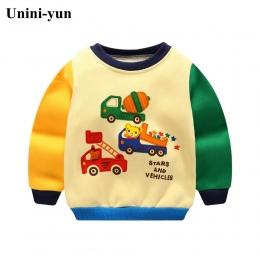NOWY Chłopcy Samochód Bluzy Dzieci Bluzy Bluza Chłopcy Dziewczyny Wiosna Jesień Płaszcz Z Długim Rękawem Dla Dzieci Casual Znosi