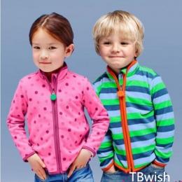TBwish Wiosną i Jesienią Dzieci Dzieci Chłopiec dziewczyna swetry Boys Baby dziewczyny stripe kurtki i płaszcze dla dzieci chłop