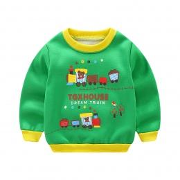 Nowy Infantil Dziecko Chłopców Roupas Bluzy Lion Drukuj Bluza dziecięca Sweter Odzieży Jesień Moda Wiosna Topy T-shirt