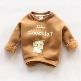 2018 Nowych Moda Dzieci Bluzy Słodkie Chłopcy Nas Odzież Wierzchnia bawełna Sweter dla Dziewczyn Dla Dzieci 2 3 4 5 6 lat