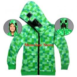 Roblox płaszcz Minecraft Jesień Mój Świat Cartoon Długim Rękawem T-shirt Chłopcy Dziewczyny gta 5 płaszcz gta 5 Topy Bluzy płasz