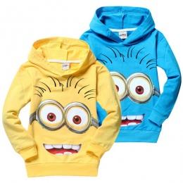 Marka cartoon anime rysunek minion Bluzy Płaszcz Odzież Dla Dzieci Kurtki Dla Dzieci Chłopcy Dziewczęta Jesienią Sweter