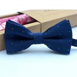 Dzieci Muszka Baby Boy Kid Odzież Akcesoria Solid Color Dżentelmen Koszula Szyi Krawat Bowknot Dot