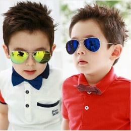 Moda Boys Baby Dla Dzieci Okulary Piolt DRESSUUP Styl Marka Projekt Dzieci Sun Glasses 100% Ochrona Przed Promieniowaniem UV Ócu