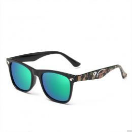 ROUPAI Marki Kamuflaż Wojskowy Gogle Okulary Dla Dzieci Okulary Dla Dzieci Dziewczyny Chłopcy Powłoka Lustrzana Okulary Płaskim