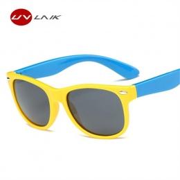 UVLAIK Dzieci Spolaryzowane Okulary Okulary Moda Dla Dzieci Chłopcy Dziewczęta Ultra miękkiego Silikonu Dziecko Dziecko Bezpiecz