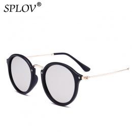 Nowy Nabytek Okrągłe Okulary powłoka Retro Mężczyźni kobiety Marka Projektant Okulary Przeciwsłoneczne W Stylu Vintage lustrzane